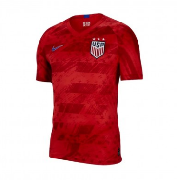 Men's USA Red 2019 World Cup FIFA 3 Star Jersey
