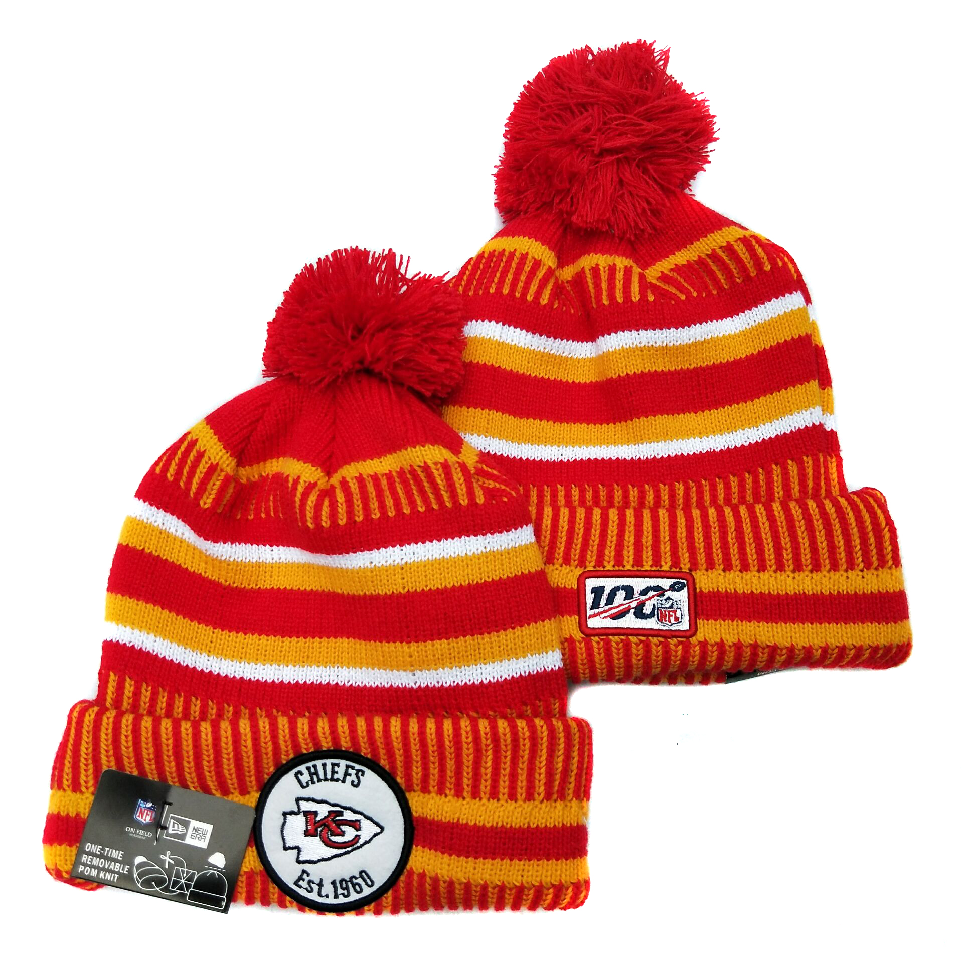 Kansas City Chiefs Knit Hats 059
