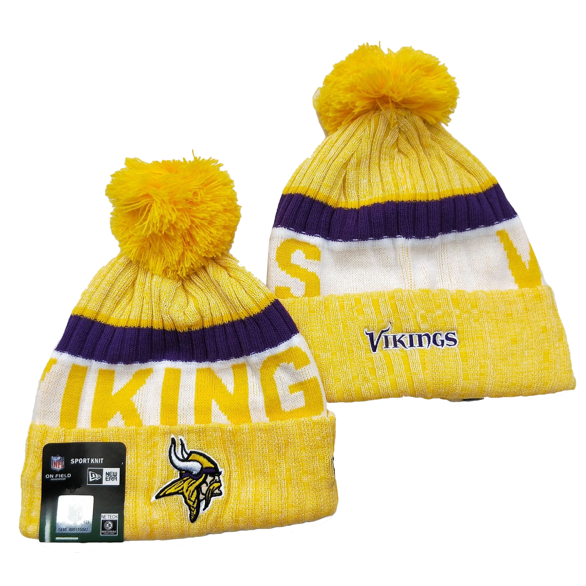 Minnesota Vikings Knit Hats 038
