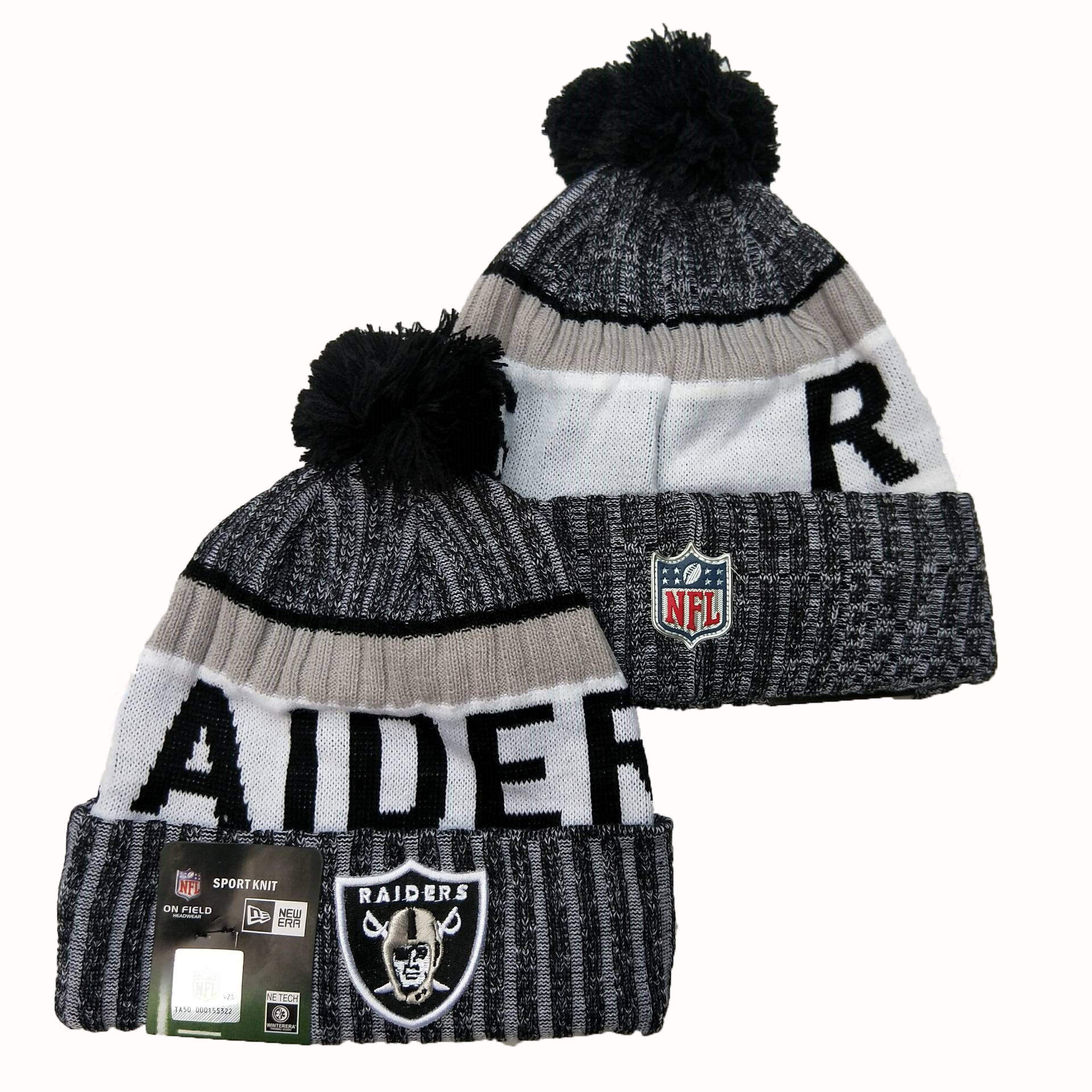 Las Vegas Raiders Knit Hats 071