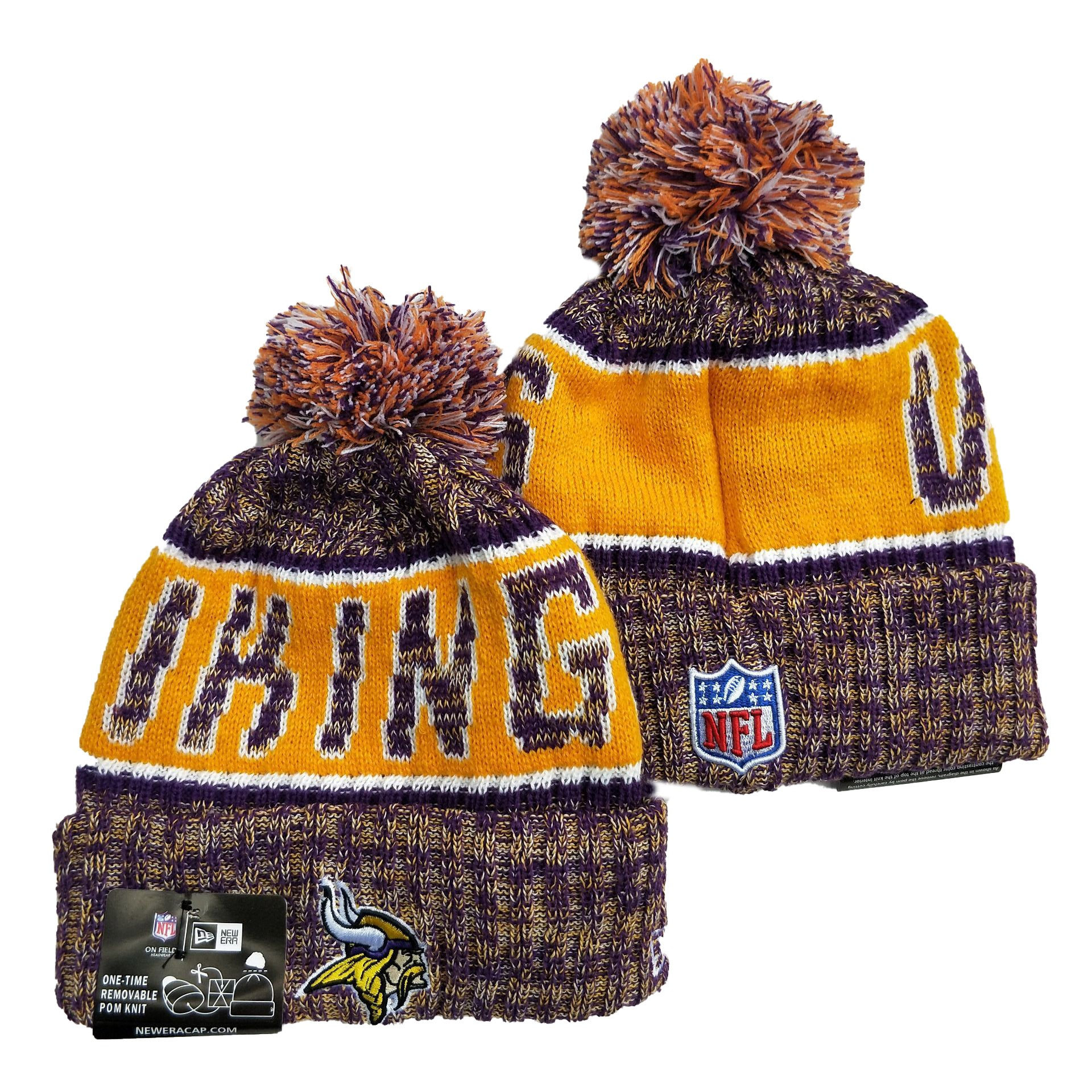 Minnesota Vikings Knit Hats 036