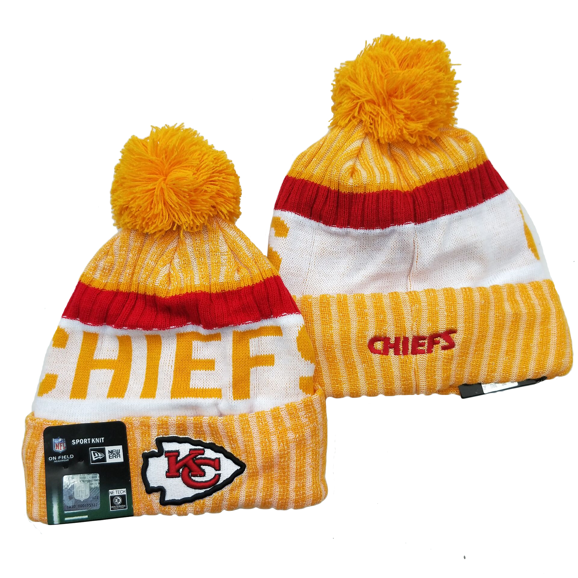 Kansas City Chiefs Knit Hats 062