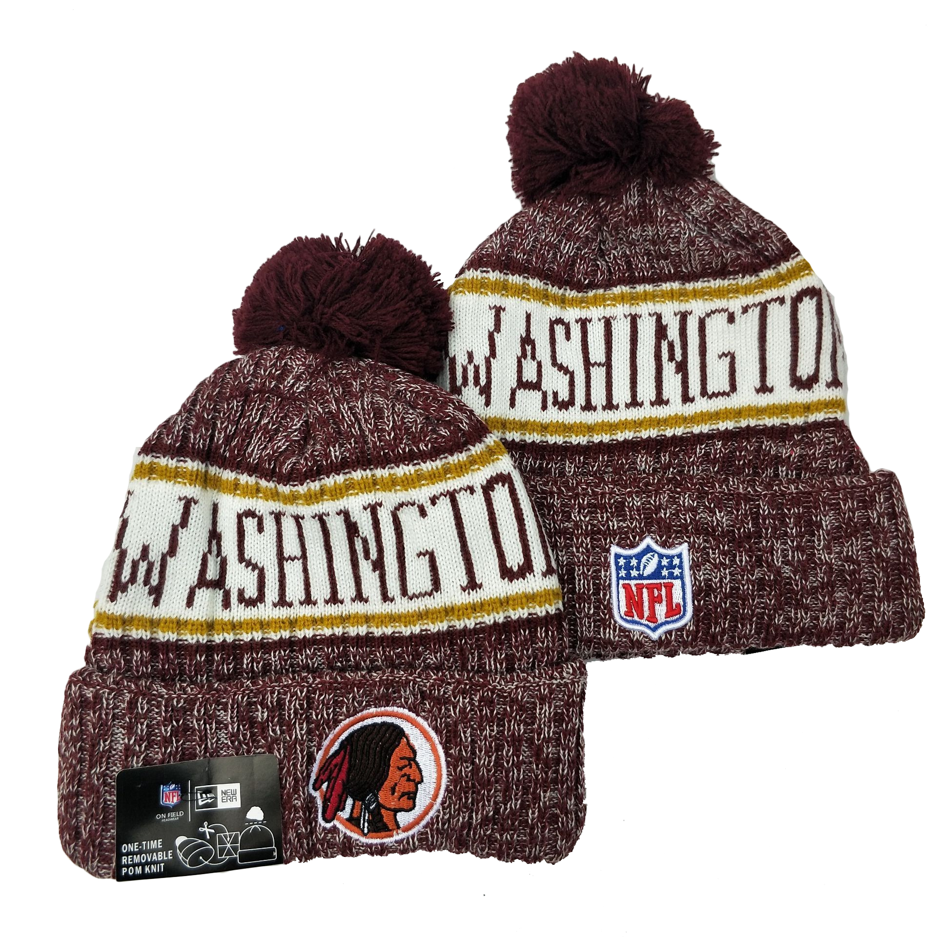 Washington Football Team Knit Hats 047