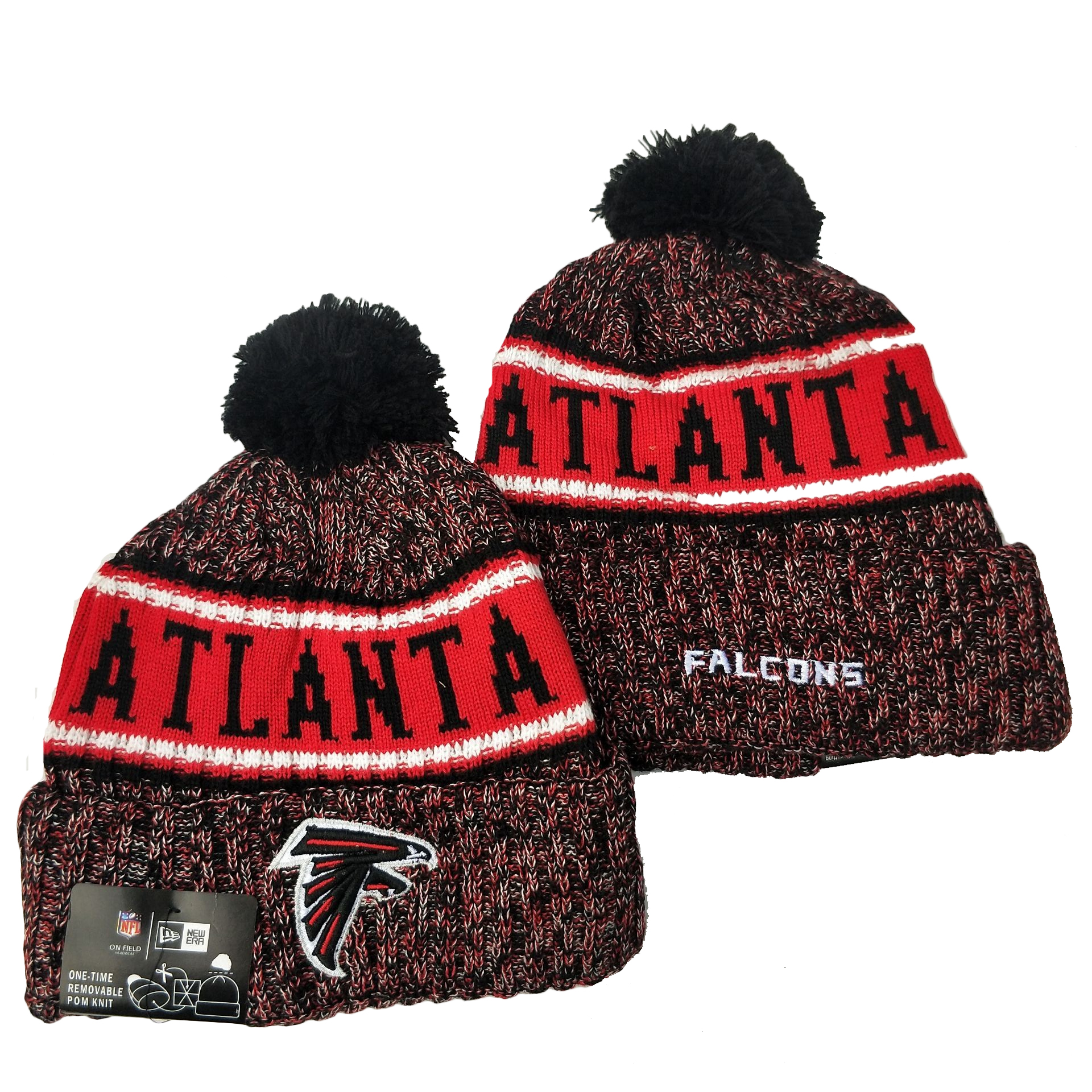 Atlanta Falcons Knit Hats 055