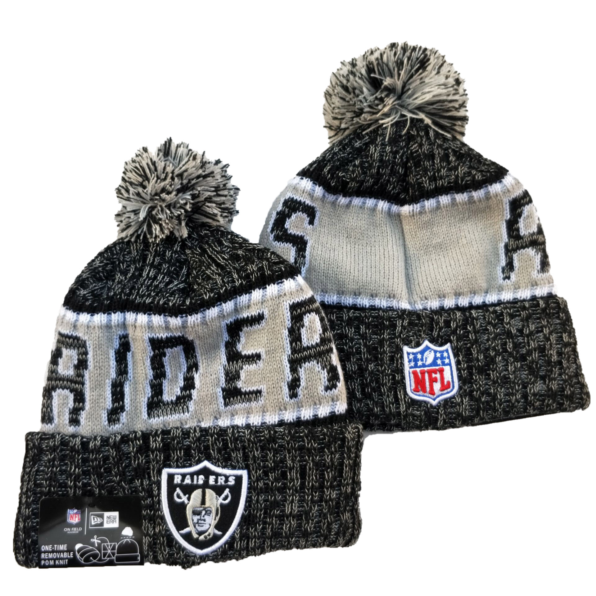 Las Vegas Raiders Knit Hats 069