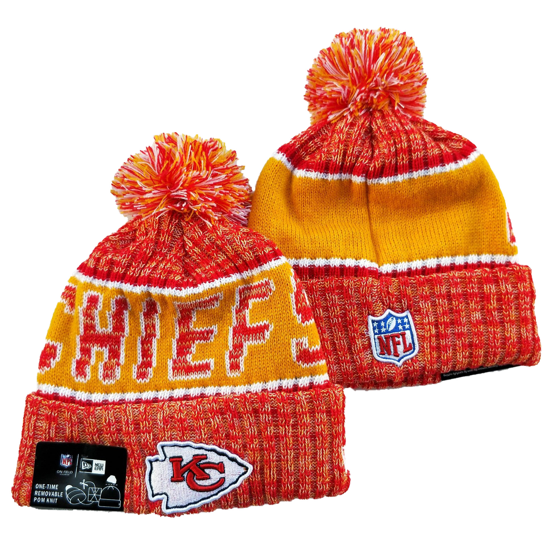 Kansas City Chiefs Knit Hats 060