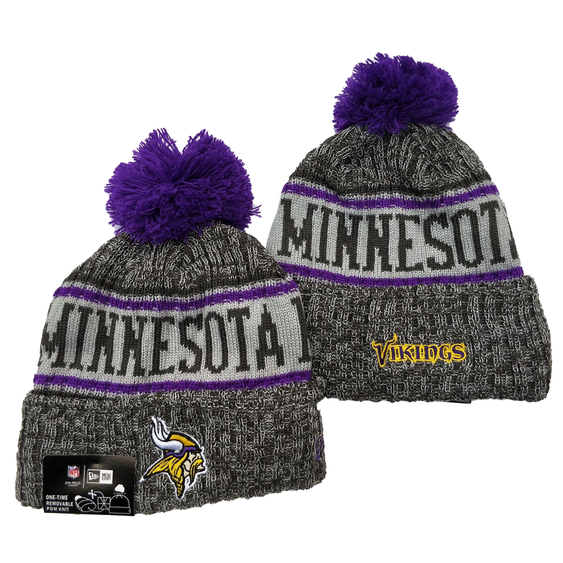 Minnesota Vikings Knit Hats 039