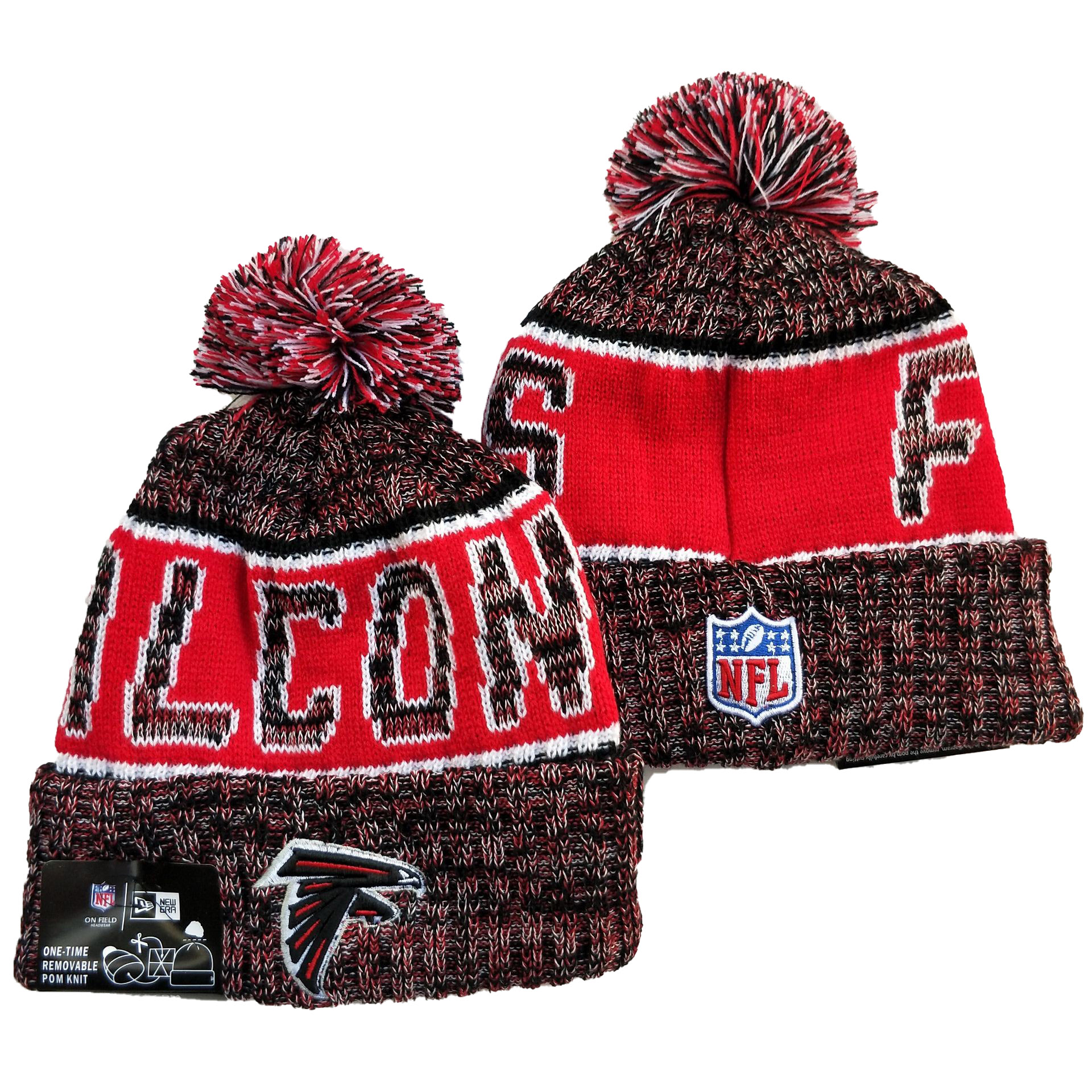 Atlanta Falcons Knit Hats 048