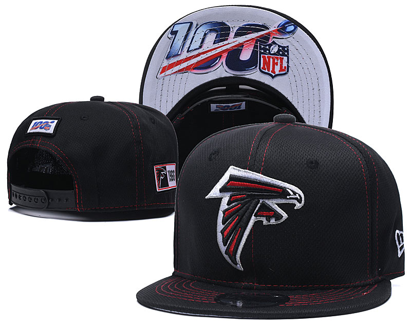 NFL Atlanta Falcons 2019 100th Season Stitched Snapback Hats 028