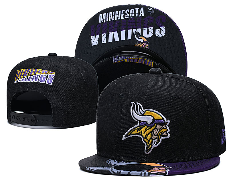 Minnesota Vikings Stitched Snapback Hats 030