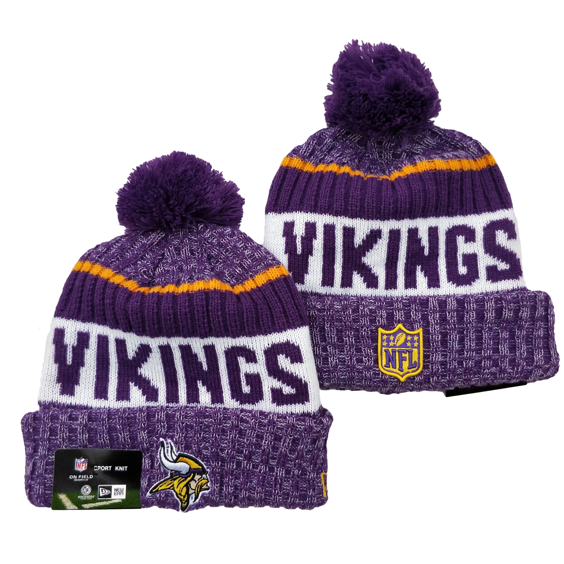 Minnesota Vikings Knit Hats 040