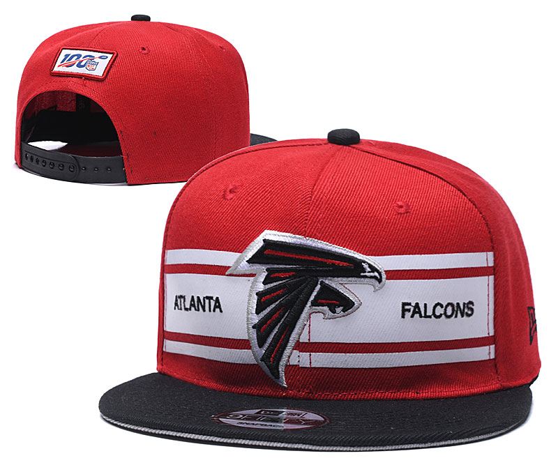 NFL Atlanta Falcons 2019 100th Season Stitched Snapback Hats 027