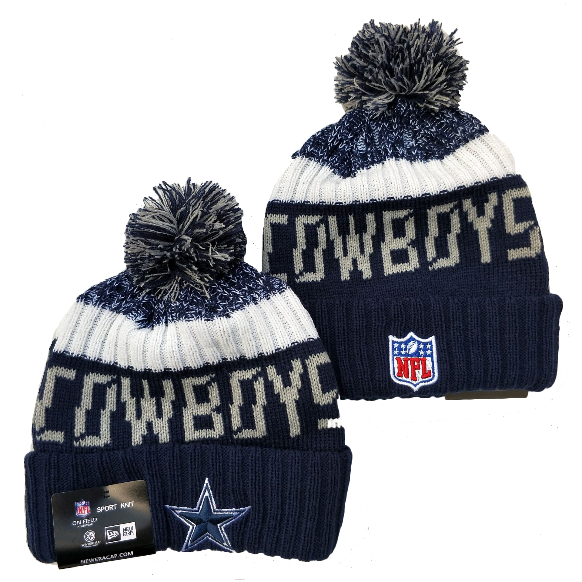 Dallas Cowboys Knit Hats 074