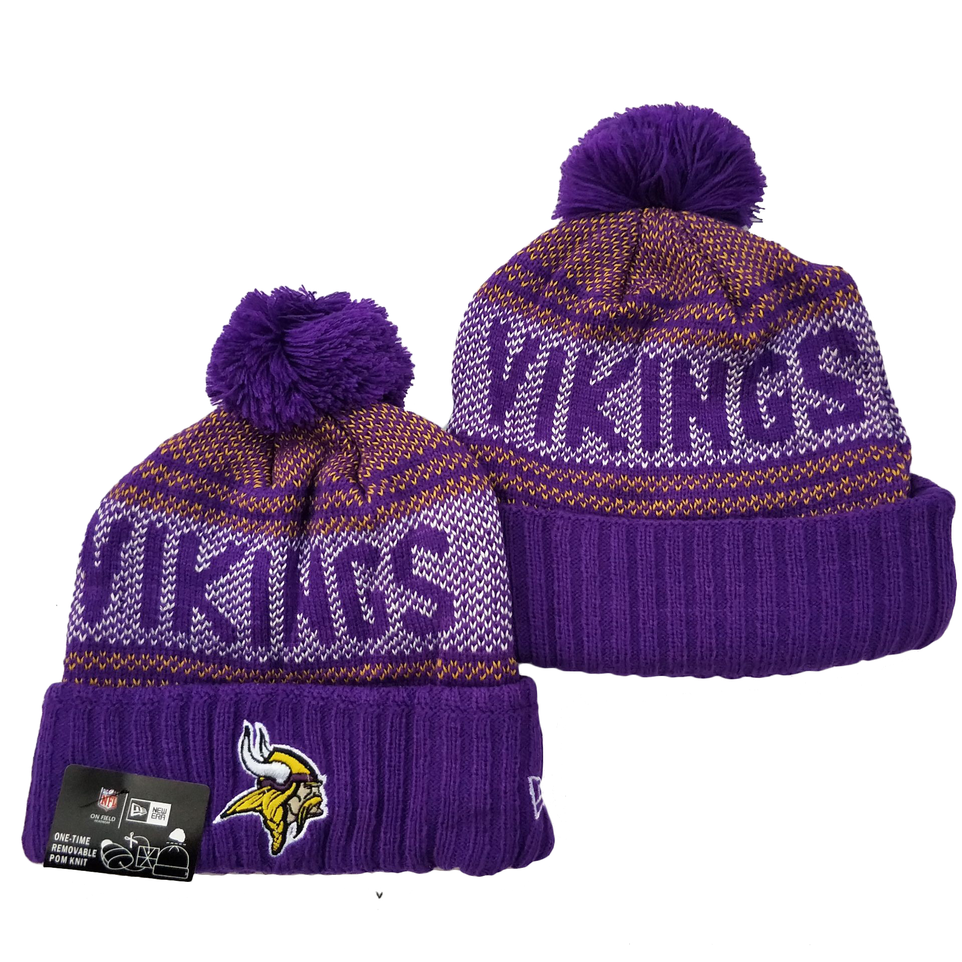 Minnesota Vikings Knit Hats 041