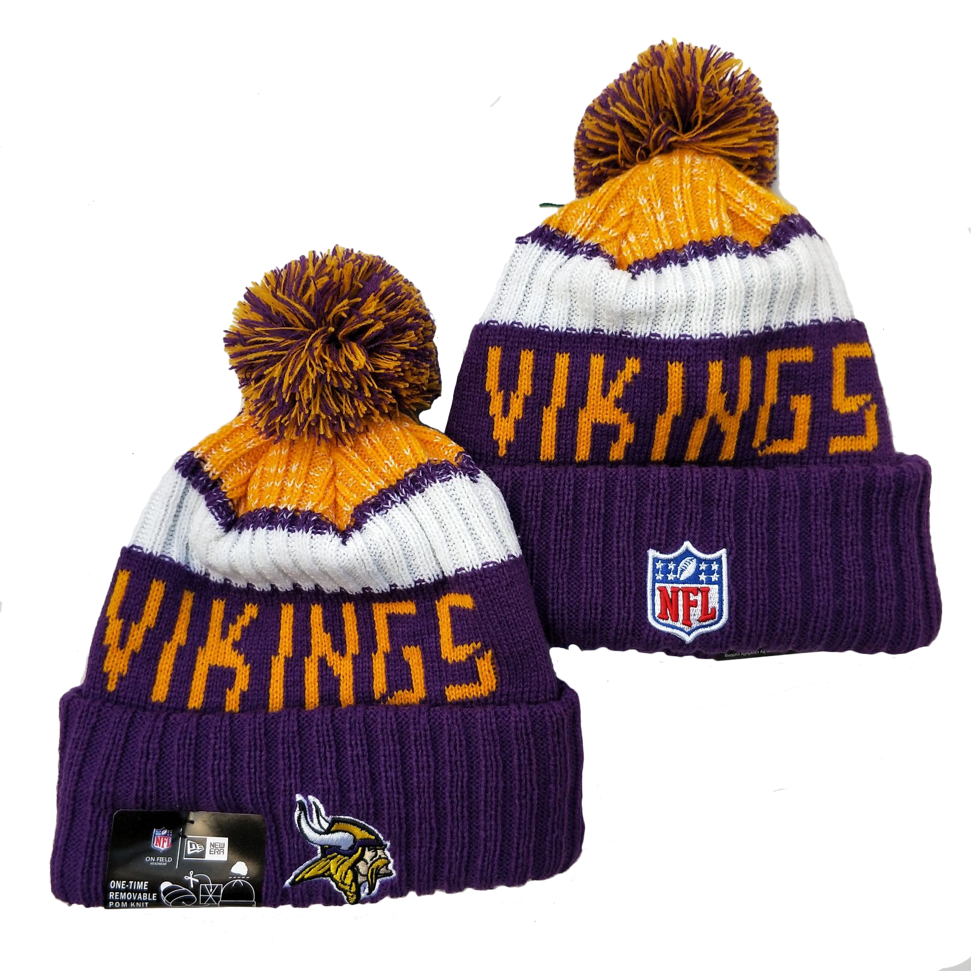 Minnesota Vikings Knit Hats 037