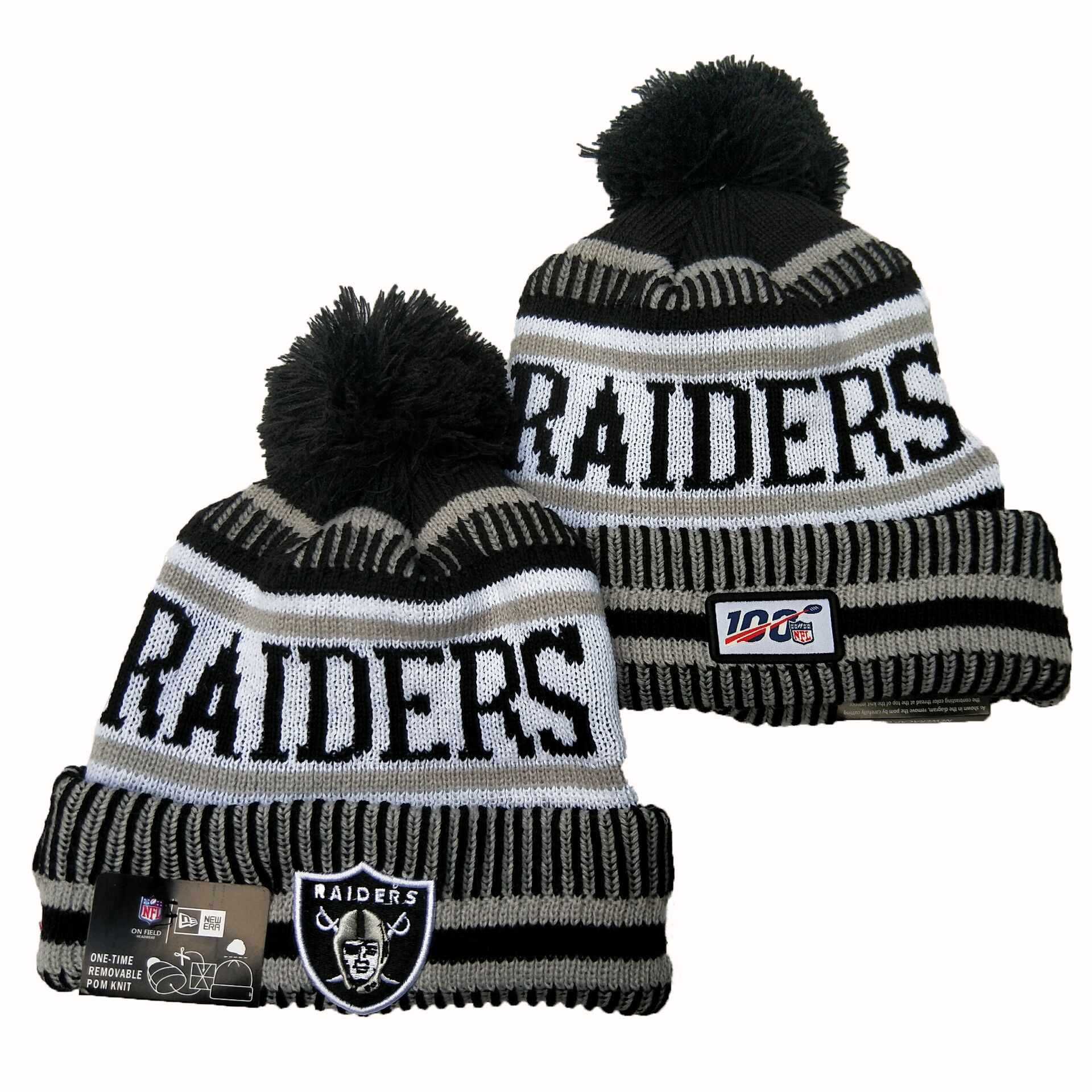 Las Vegas Raiders Knit Hats 067