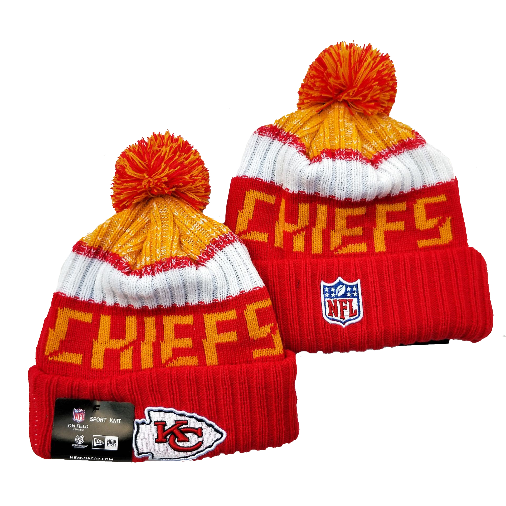 Kansas City Chiefs Knit Hats 061