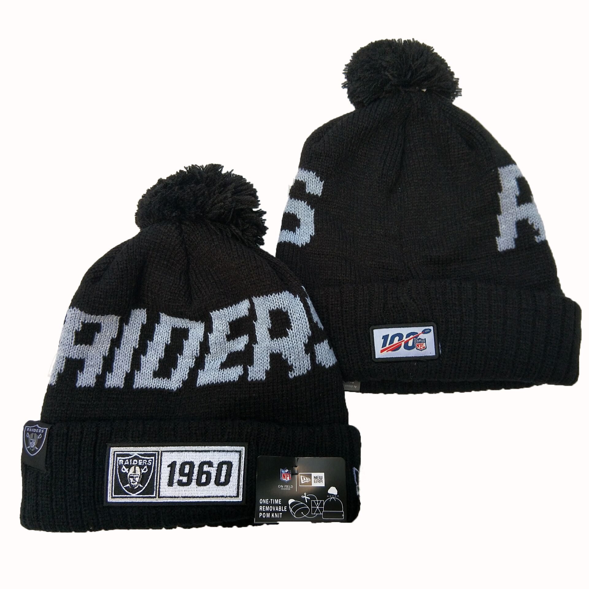 Las Vegas Raiders Knit Hats 068