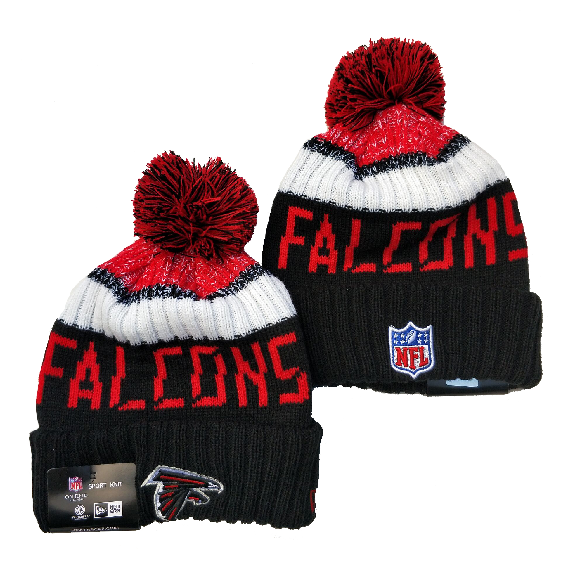 Atlanta Falcons Knit Hats 049