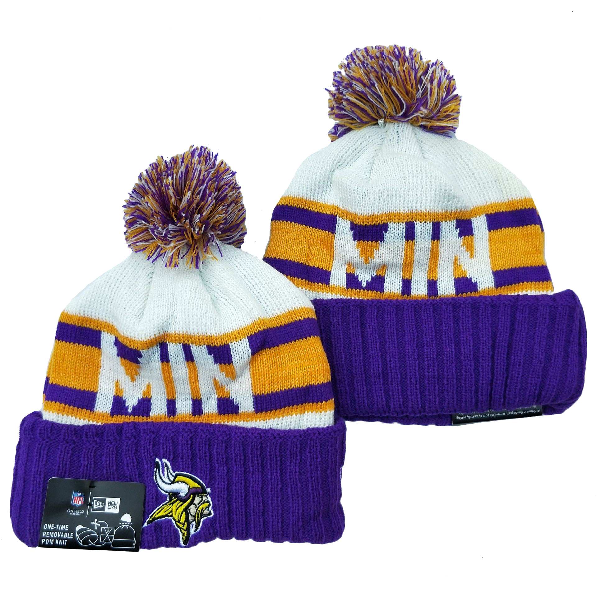 Minnesota Vikings Knit Hats 043