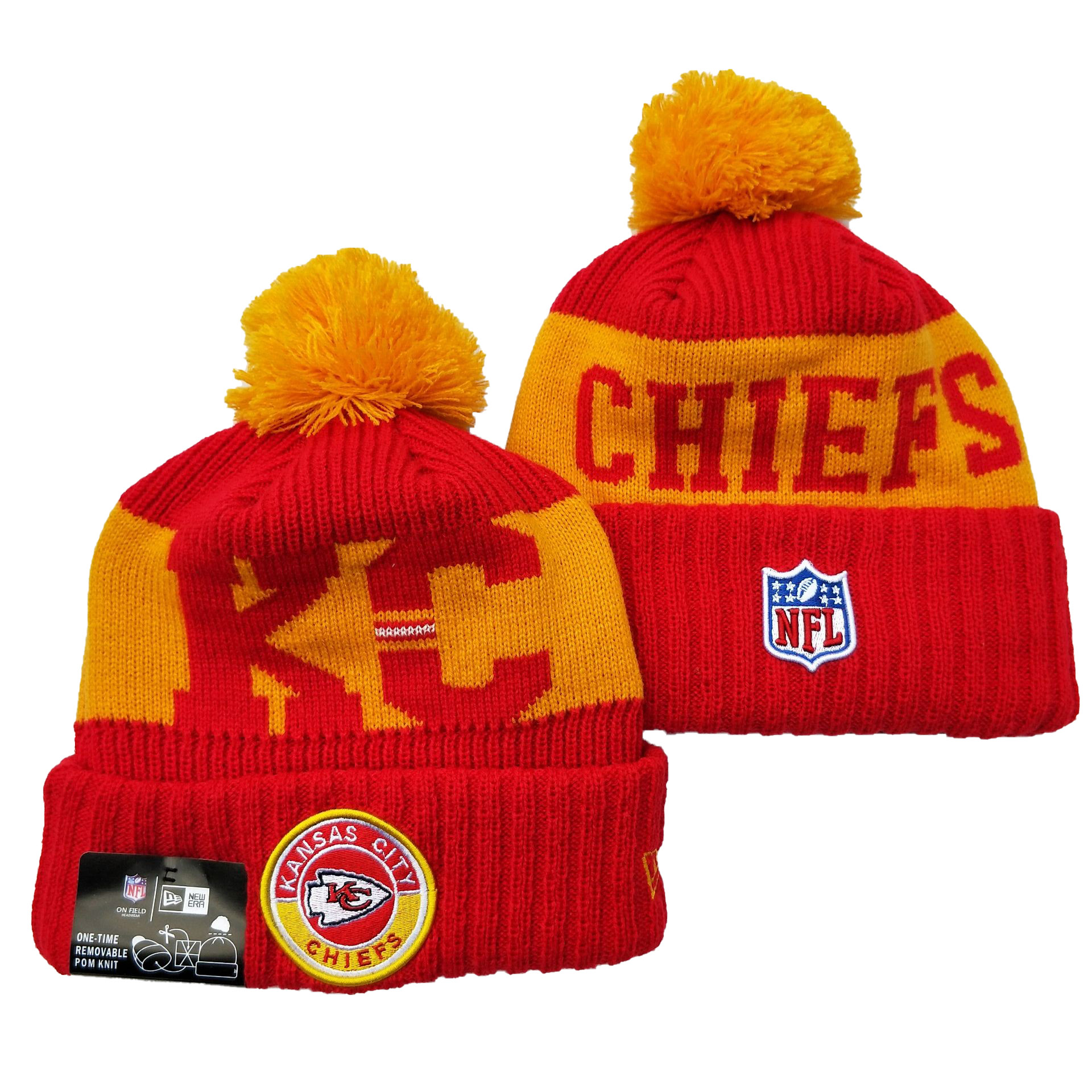 Kansas City Chiefs Knit Hats 068