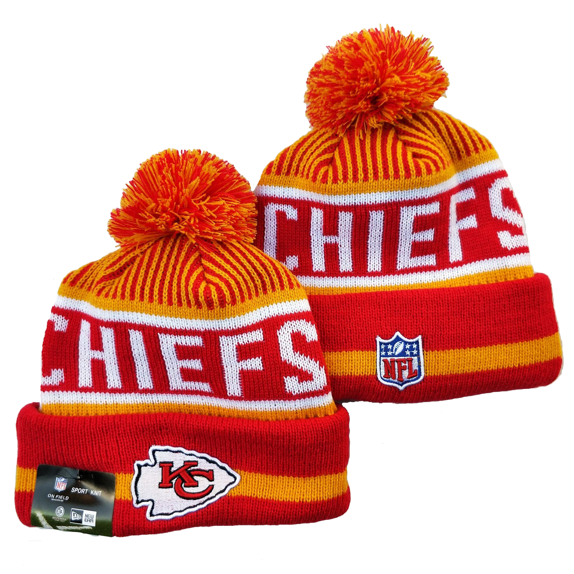 Kansas City Chiefs Knit Hats 072