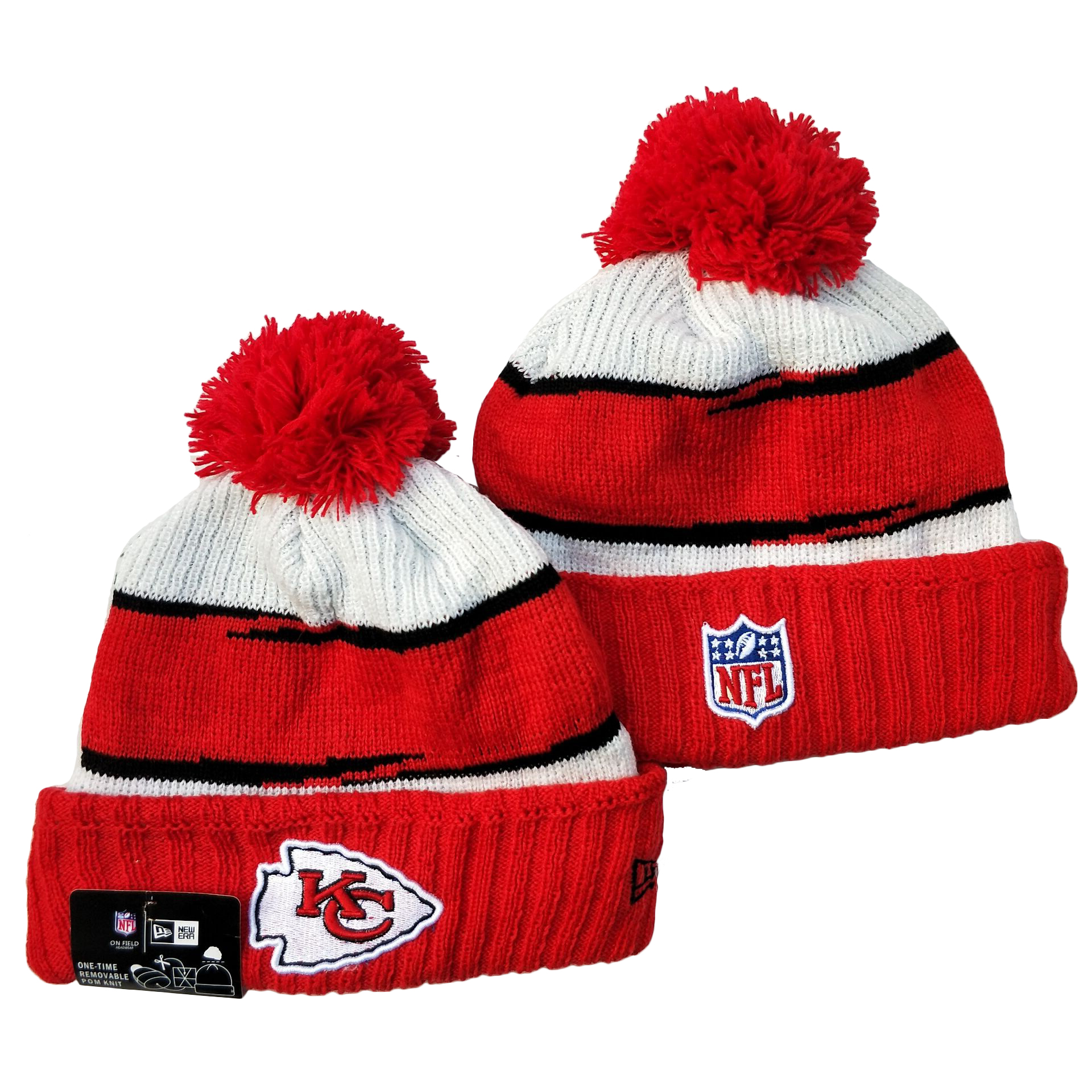 Kansas City Chiefs Knit Hats 070