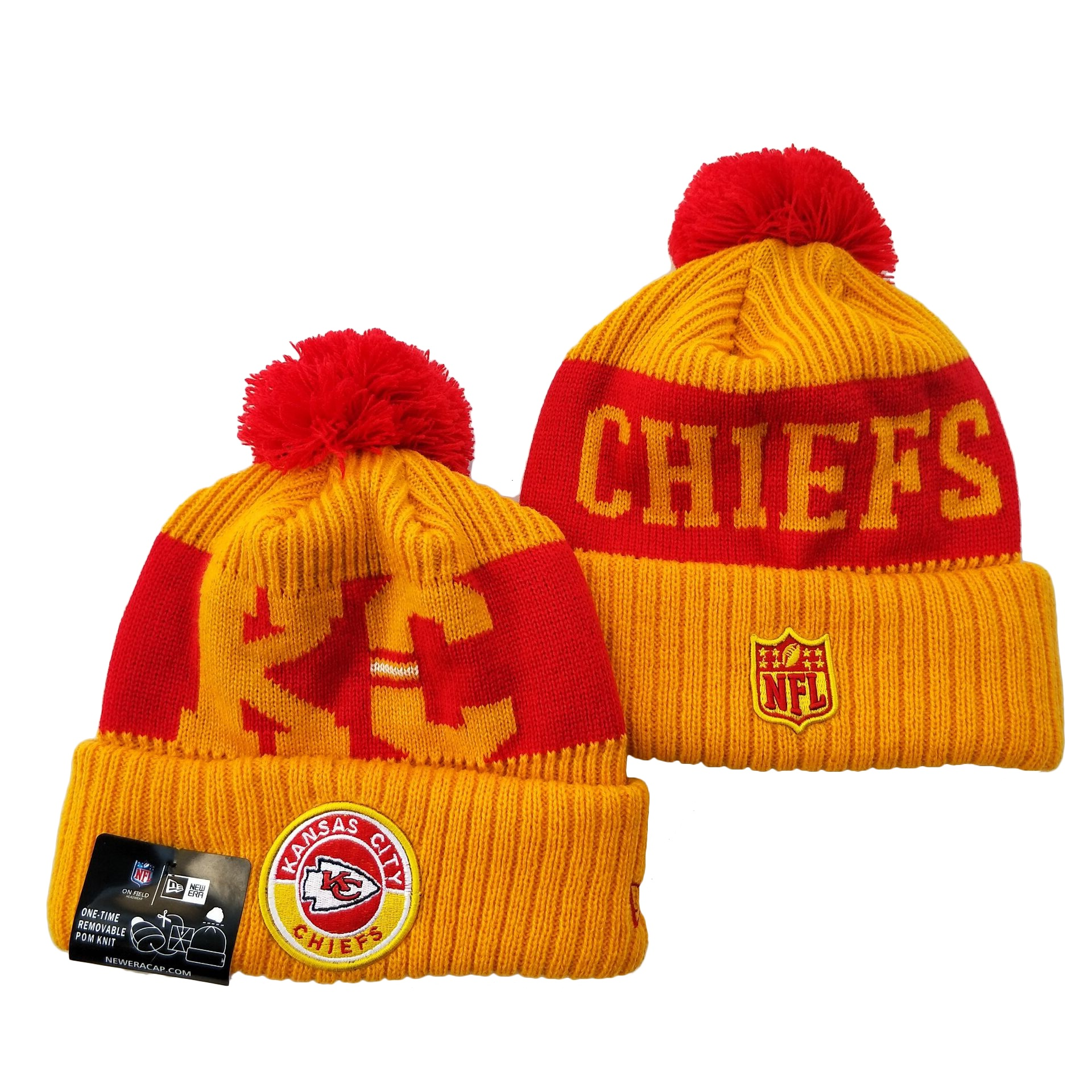 Kansas City Chiefs Knit Hats 069