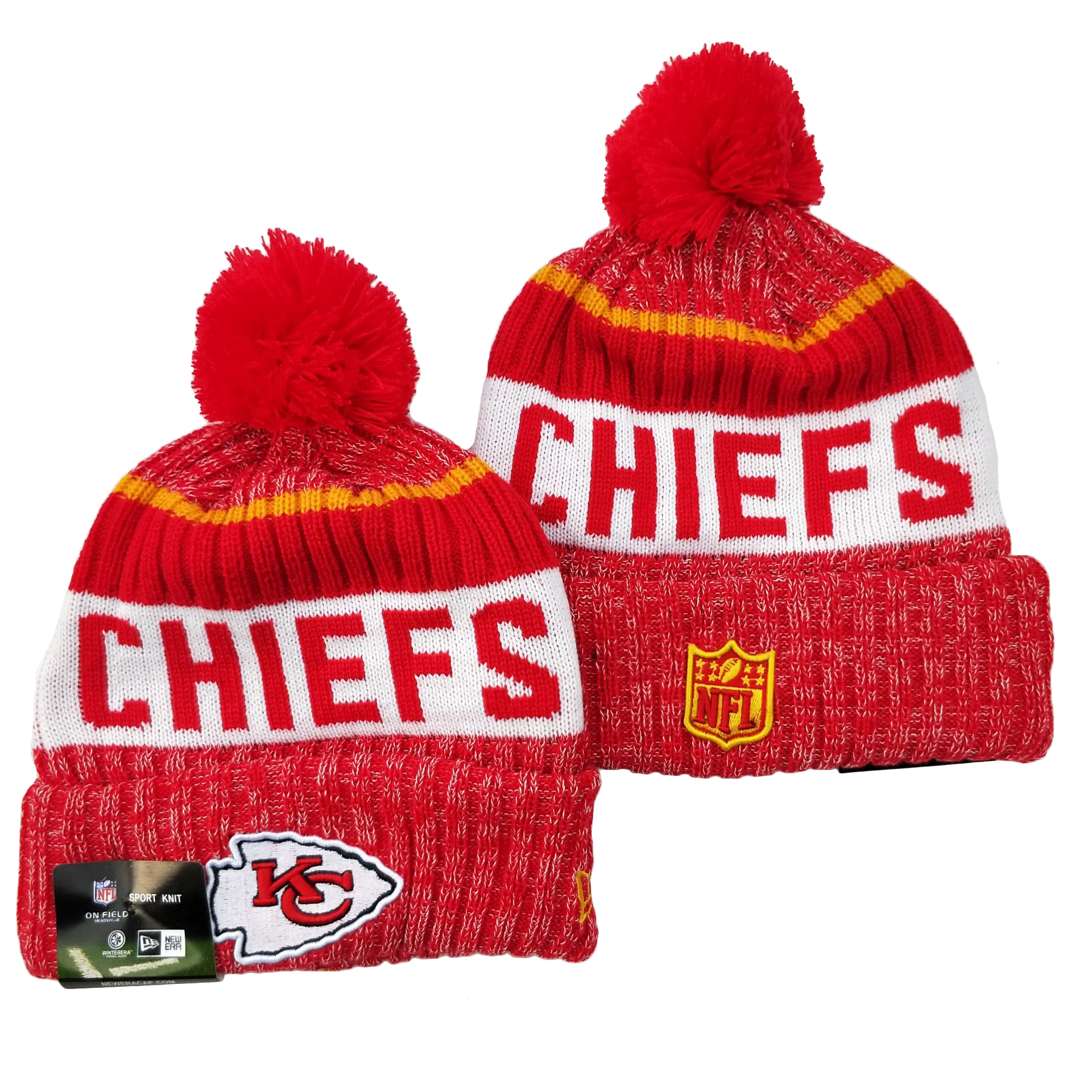 Kansas City Chiefs Knit Hats 066