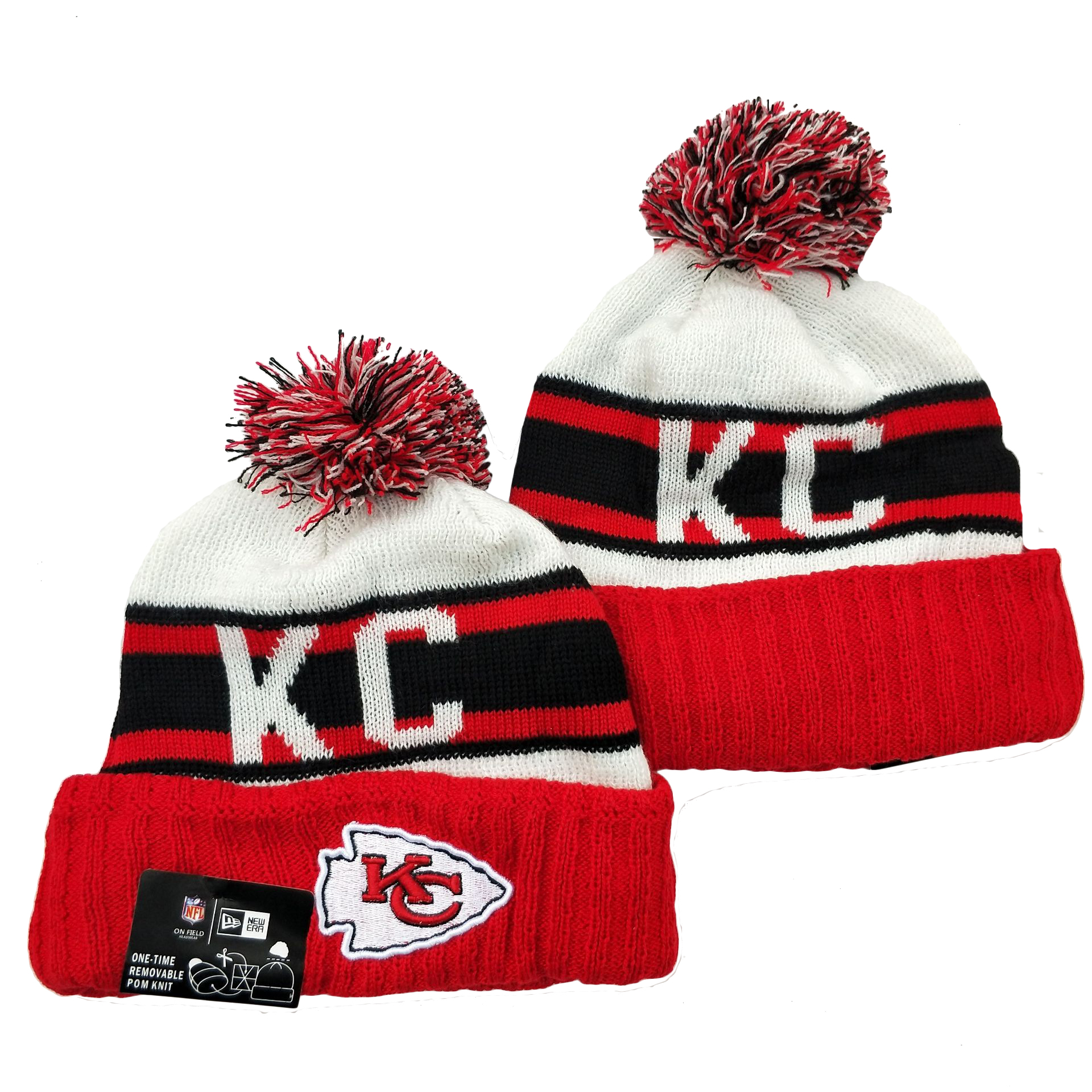 Kansas City Chiefs Knit Hats 067