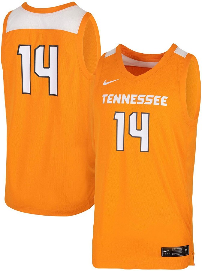 Men's tennessee basketball 2020 Orange Customized Stitched NBA Jersey