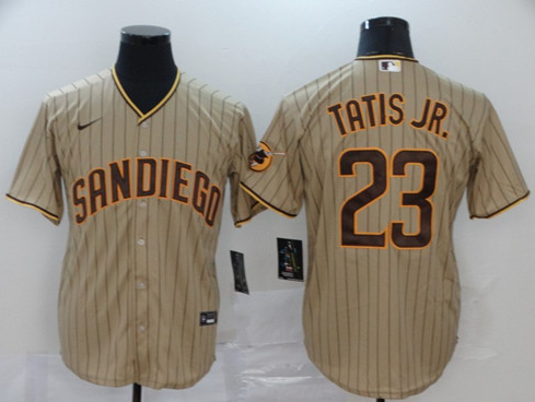 Men's San Diego Padres Customized Stitched Jersey