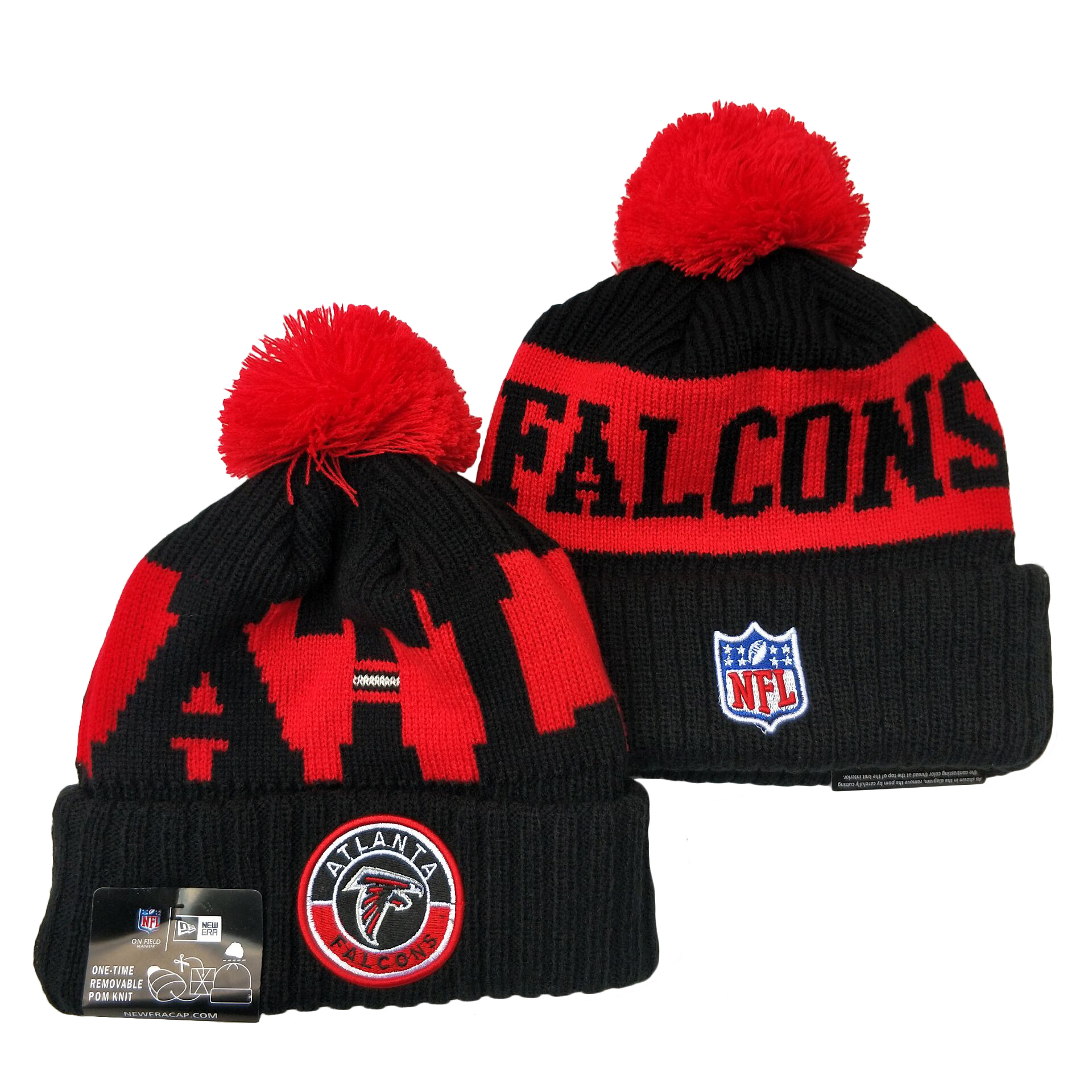 Atlanta Falcons Knit Hats 052
