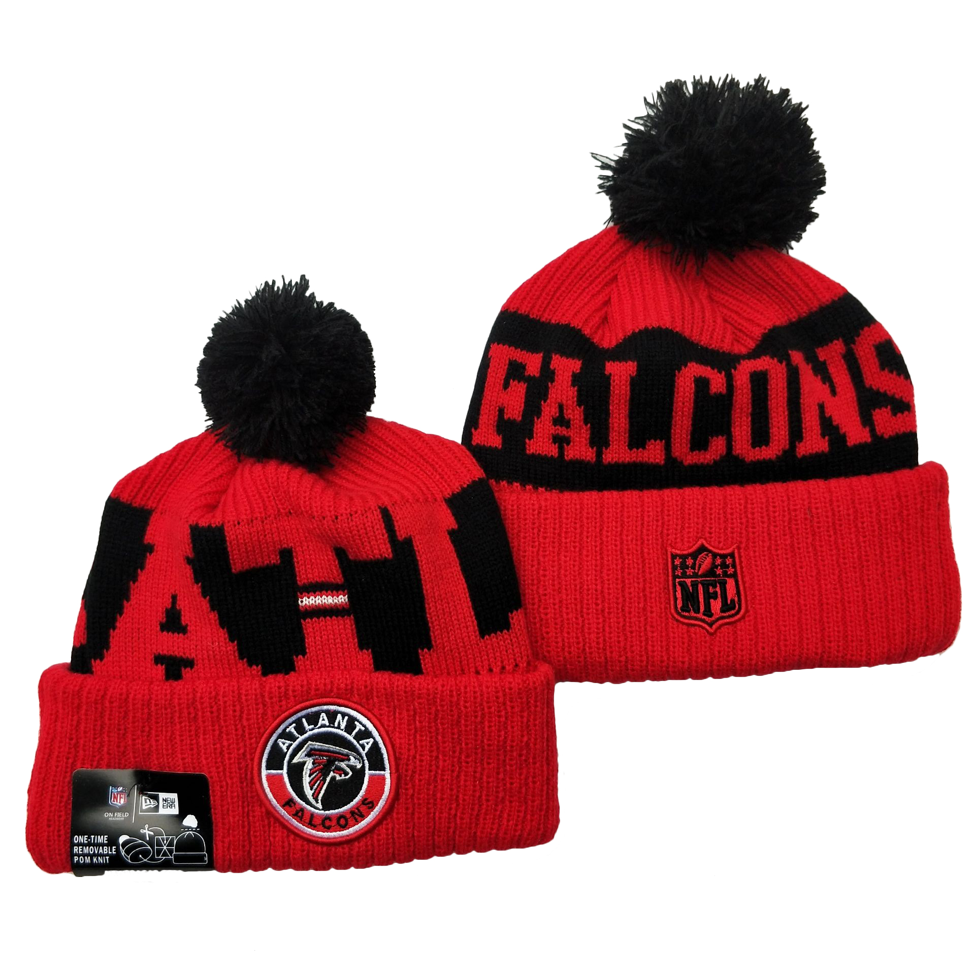 Atlanta Falcons Knit Hats 057