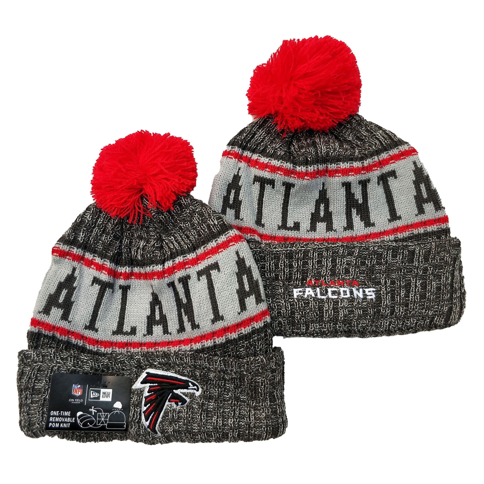 Atlanta Falcons Knit Hats 051