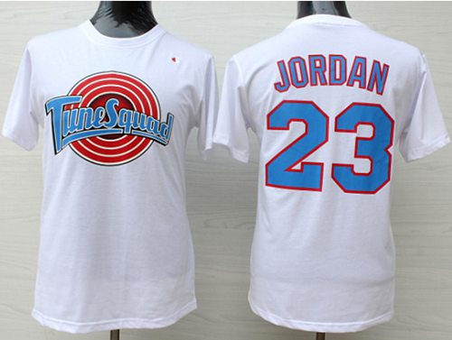 Space Jam Tune Squad #23 Michael Jordan White Stitched Basketball Jersey