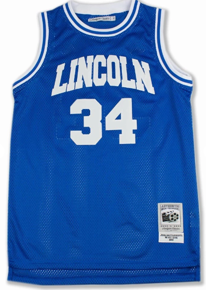 Men's #34 Jesus Shuttlesworth NBA Jersey