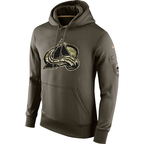 Men's Colorado Avalanche Nike Salute To Service NHL Hoodie