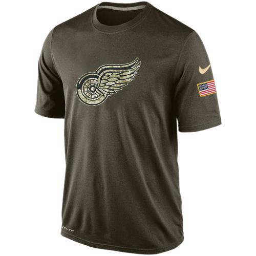 Men's Detroit Red Wings Salute To Service Nike Dri-FIT T-Shirt