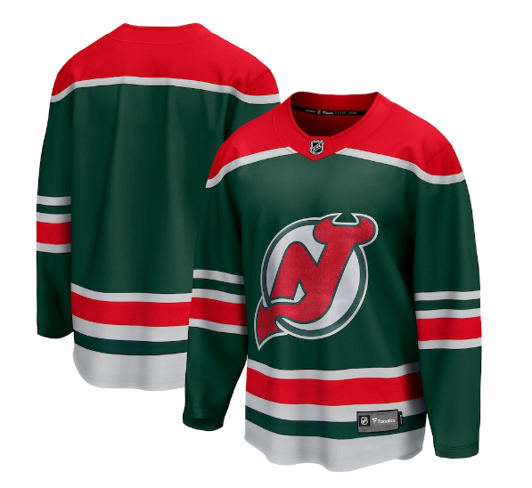 Men's New Jersey Devils Green 2020/21 Special Edition Stitched NHL Jersey