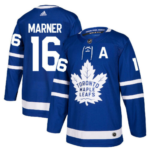 Men's Toronto Maple Leafs #16 Mitchell Marner2021 Blue Stitched NHL Jersey