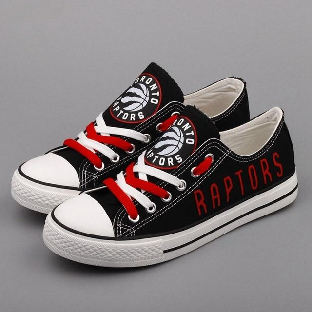 Women's And Youth Toronto Raptors Low top Sneakers 001