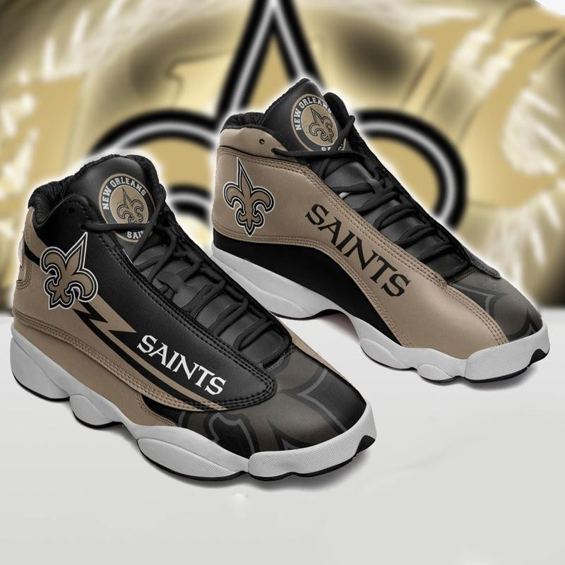 Men's New Orleans Saints Limited Edition JD13 Sneakers 003