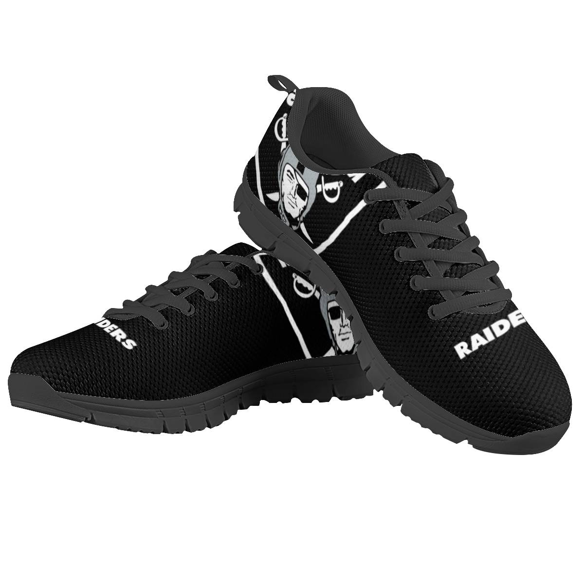 Men's Las Vegas Raiders AQ Running Shoes 001