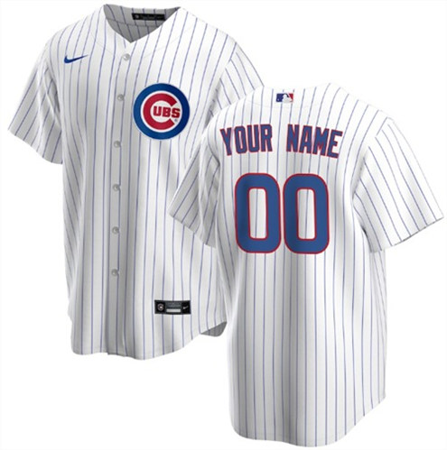 Men's Chicago Cubs ACTIVE PLAYER Custom Stitched MLB Jersey