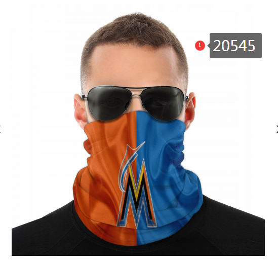 Miami Marlins Variety Face Scarf 20545(Pls check description for details)