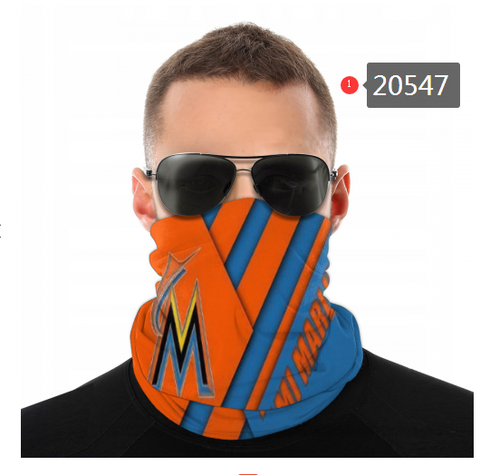 Miami Marlins Variety Face Scarf 20547(Pls check description for details)