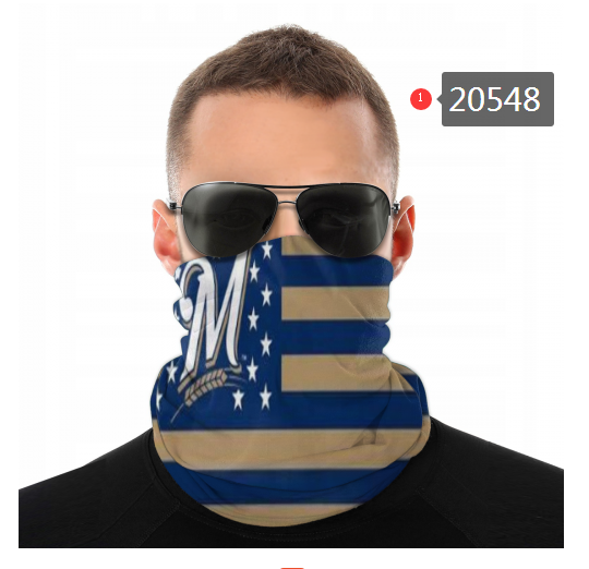 Milwaukee Brewers Variety Face Scarf 20548(Pls check description for details)