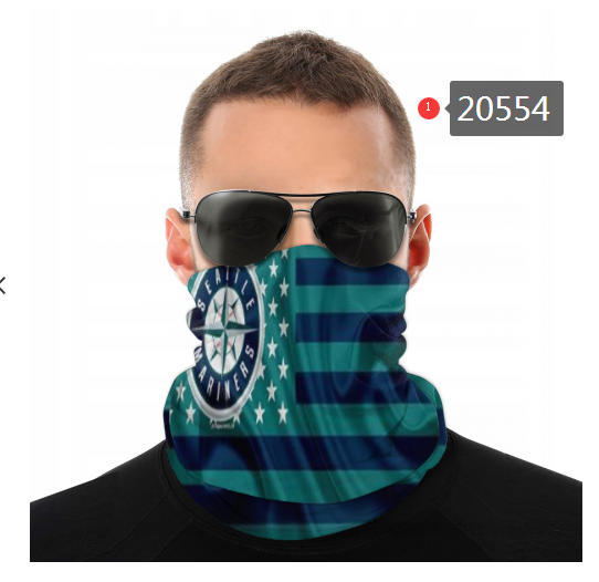 Seattle Mariners Variety Face Scarf 20554(Pls check description for details)