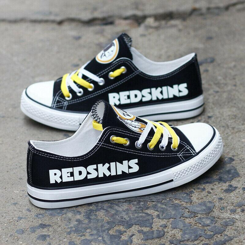 NFL Washington Redskins Repeat Print Low Top Sneakers 002